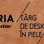 Materia-targ de design contemporan in piele