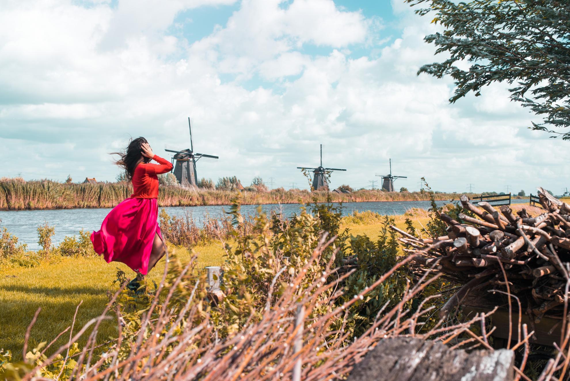 Olanda. Kinderdijk si Haga