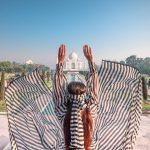 Cu si despre Taj Mahal